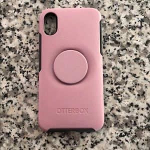 iPhone X Otter+pop case by Otterbox